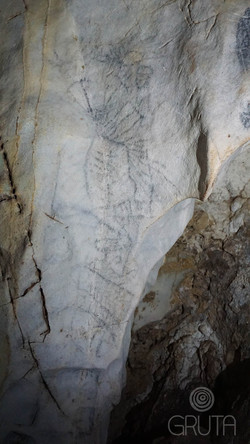 Caverna El Tigre - Pictogramas