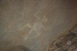 Caverna La Gruta - Petroglifo