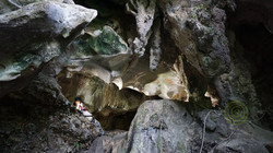 Caverna El Indio - Panel rupestre