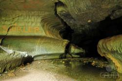 Caverna La Gruta - Galería occidental