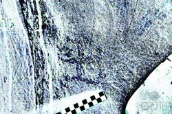 Caverna La Gruta - Resaltado digital Chamán con bastón