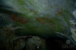 Panel Rupestre Caverna - El indio