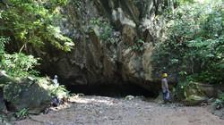 Caverna El Caimán - Entrada
