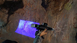 Caverna La Gruta - Documentación rupestre