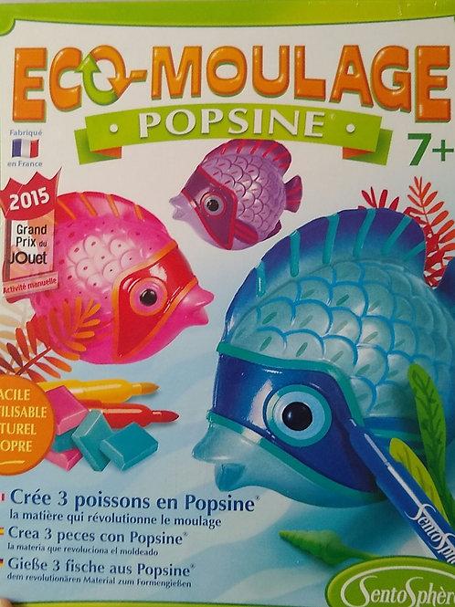 Eco moulage Popsine Poissons tropicaux