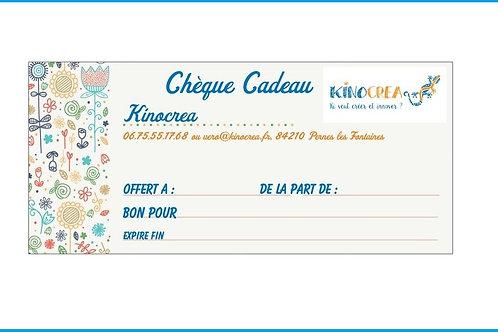 Bon Cadeau  pour 10 ateliers enfants (2*1h30)