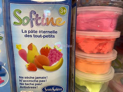 4 Pots Softine Couleurs Chaudes ou Froides