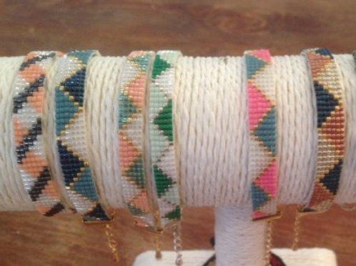 Bracelet Tissé en perles Miyuki Fait main