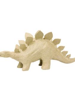Stégosaure -Support en papier mâché 32x9x15 cm,