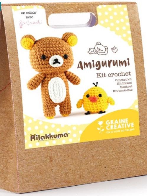 Kit Crochet Amigurumi - Koala, Biche ou Ourson
