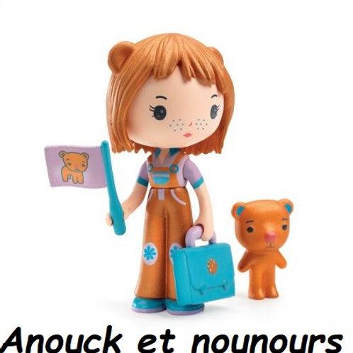 Craquantes Figurines Tinyly pour créer des histoires de filles