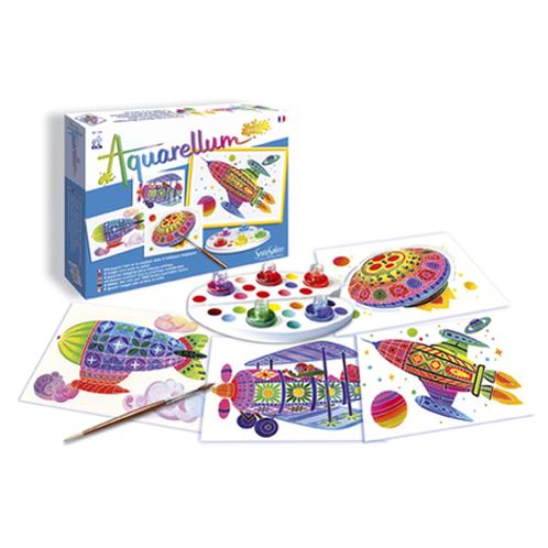 Aquarellum Junior (nombreux modèles) : tableaux aquarelles