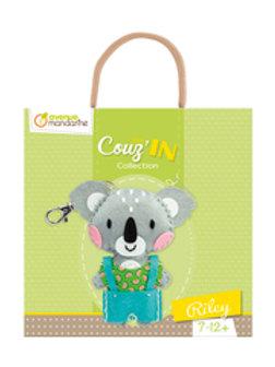 Mini Couz'In : Porte clé Feutrine, à coudre