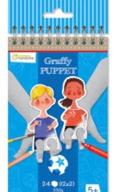 Coloriages Marionnettes Graffy puppet
