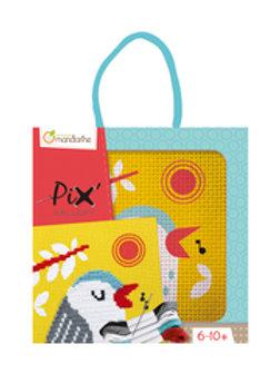 Kit de point de croix Pix' Gallery - Chat ou Oiseau
