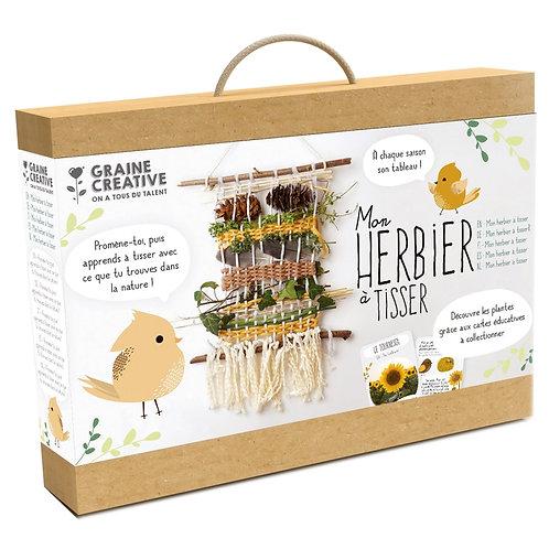 Kit Métier à Tisser - Mon Herbier à tisser