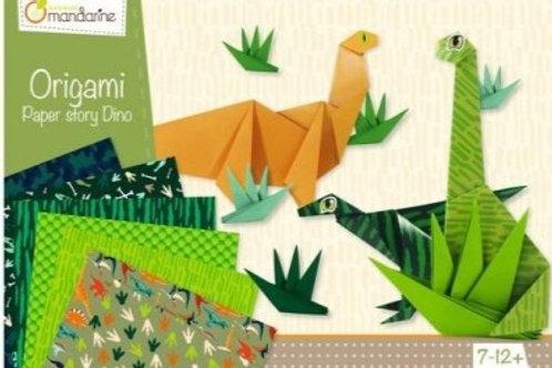 Origami Dinausore ou papillon