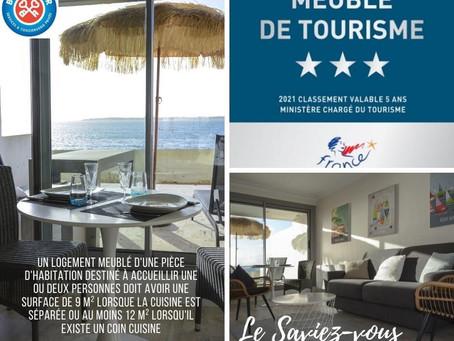 Classer votre studio dans le Finistère Sud en meublé de tourisme