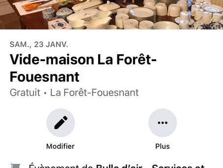 Bulle d'air - Services Et Conciergerie Privée organise des vides maisons dans le Finistère Sud