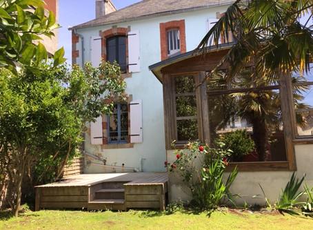 Charme authentique pour cette demeure des années 1920 située au Passage à Concarneau