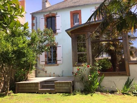 Des vacances à Concarneau dans une maison de 3 chambres et une histoire avec 15% de remise