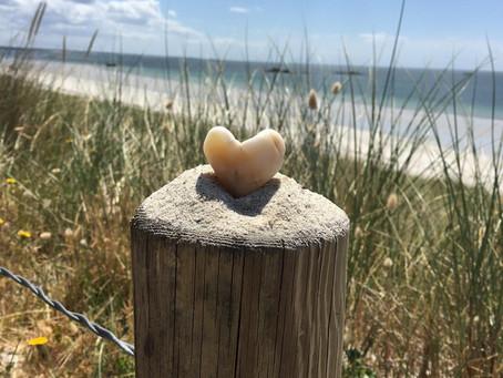 Comme moi, découvrez des galets façonnés par la mer, preuve qui vous serez toujours bien accueillis