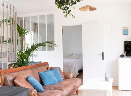 Un cadre idyllique pour cette maison familiale sur la station balnéaire de Beg-Meil à Fouesnant