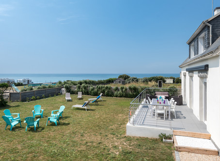 Pouldreuzic, Finistère Sud: séjournez dans une maison pratique et au bord de l'Océan Atlantique