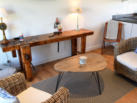 Appartement situé face au petit port de Penhors, au cœur de la baie d'Audierne