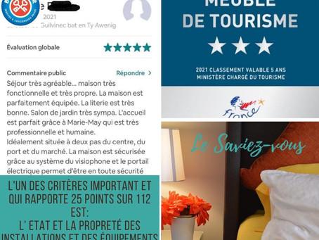Comment se déroule le classement de meublé de tourisme avec Bulle d'air Conciergerie en Finistère