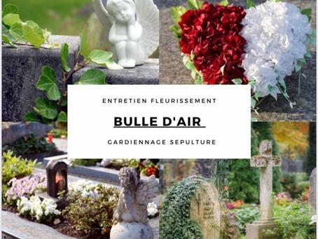 Le gardiennage de votre tombe familiale par Bulle d'air Conciergerie dans le Finistère Sud
