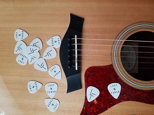Lost & Faded - Guitar Pick