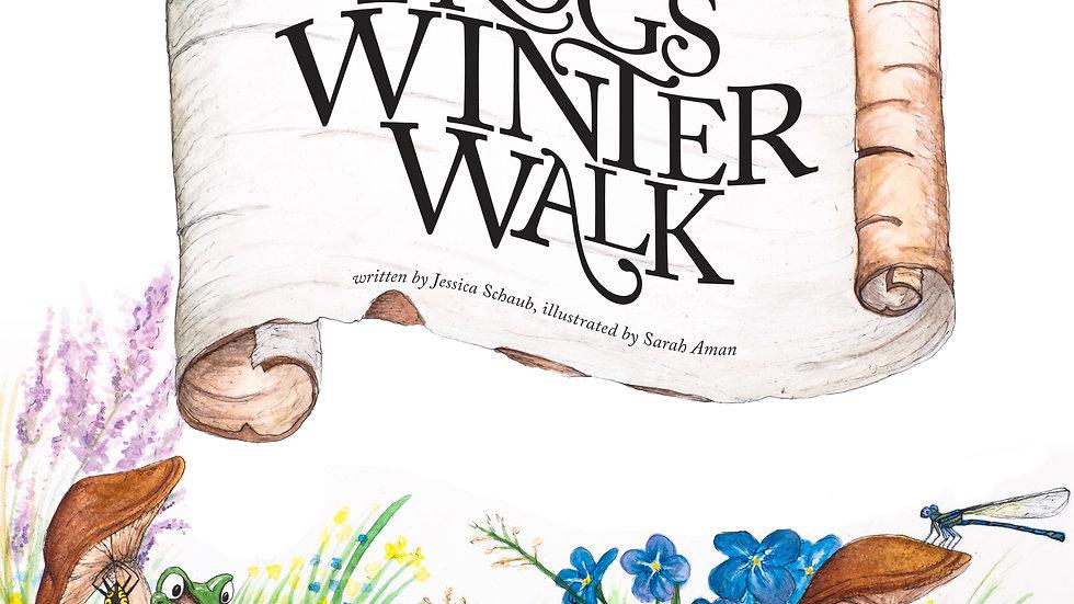 Frog's Winter Walk