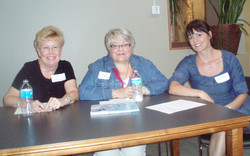 Meg, Diane and Kristen, Panel on Publishing.JPG