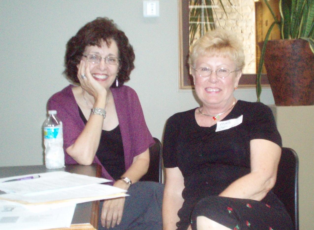 Barb Greenberg and Meg Corrigan 2.JPG