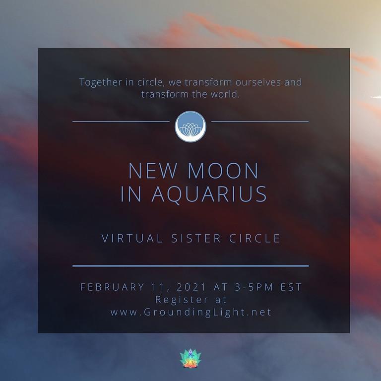 Aquarius New Moon Circle