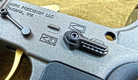 V Seven Titanium Ambi AR-15 Safety Selector