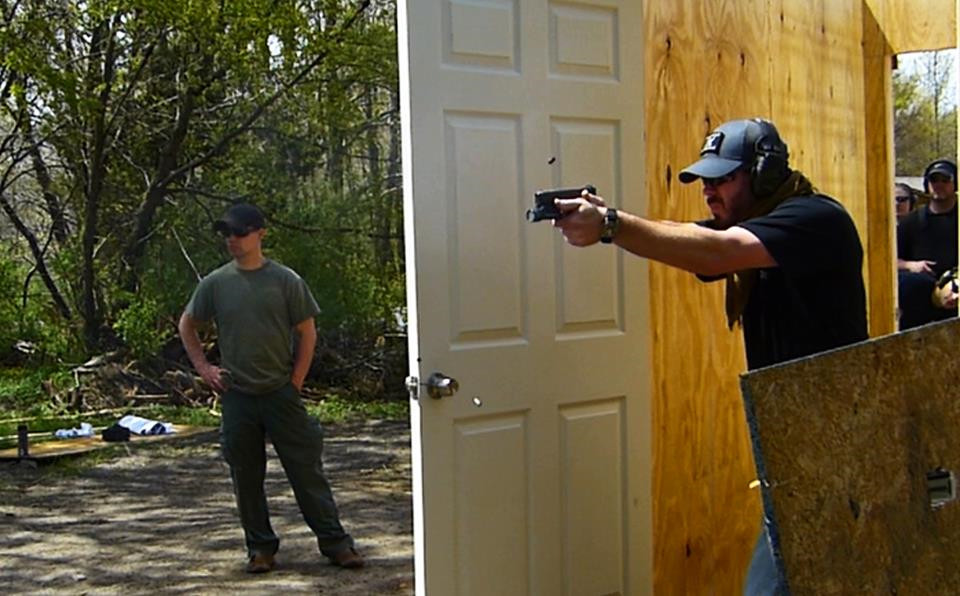 Me At a Trident Fitness Tactical Personal Defense Course
