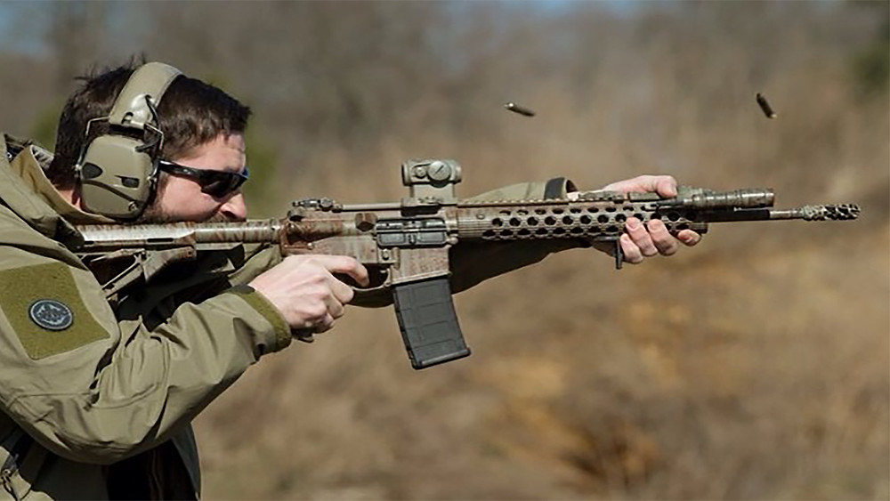 Nate Murr at a Carbine Course