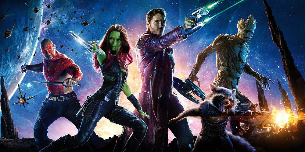 Guardians of the Galaxy (2014) Directed by James Gunn at age 46!
