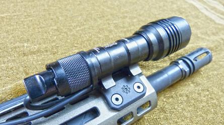 Arisaka M-LOK Scout Weapon Light Mounts