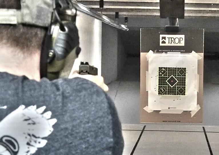 Me at the gun range