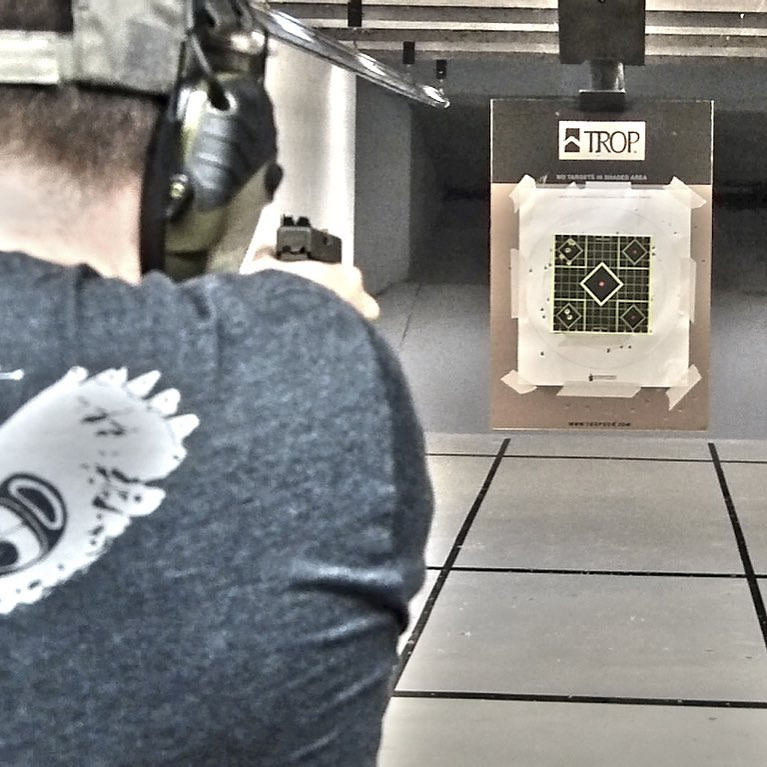 After Lot's of Dry Fire Practice Hit the Range!