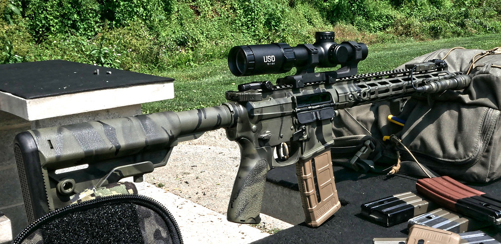 US Optics TS-8X Variable Power Optic