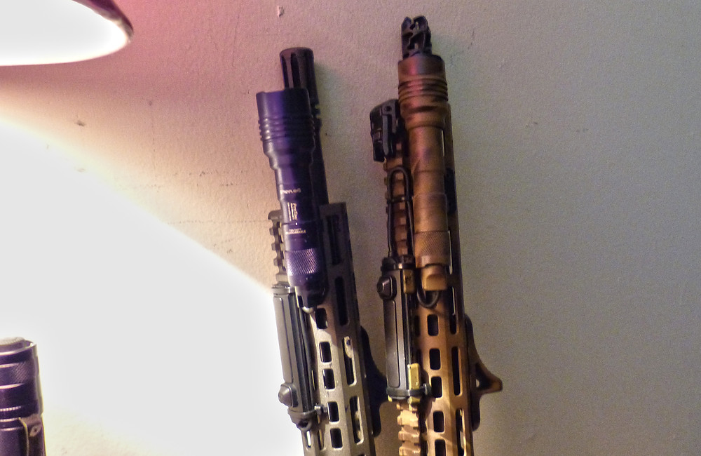 Streamlight ProTac Rail Mount 1 and 2