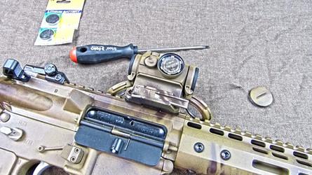 Rifle/Pistol Maintenance: Replace Those Batteries!