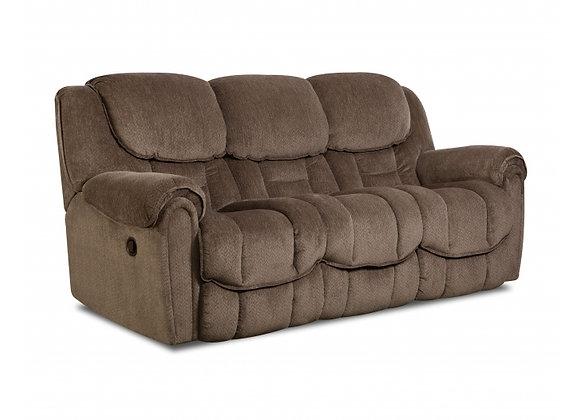 Taupe Reclining Sofa