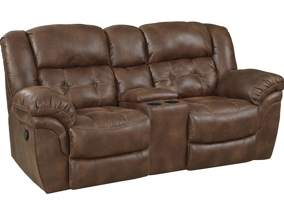 Padre Expresso Power Reclining Console Loveseat