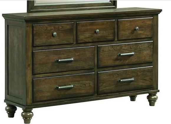 Chatham Gray Dresser and Mirror