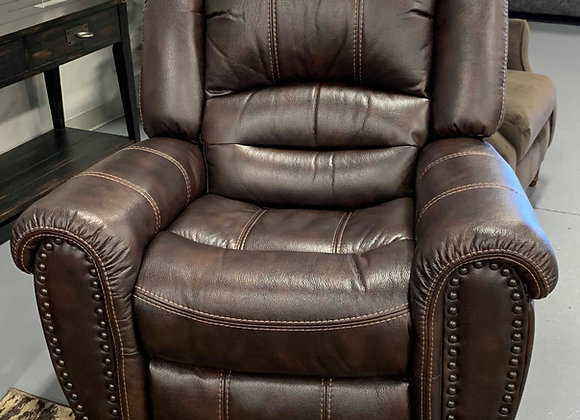 Leath Aire Glider Recliner
